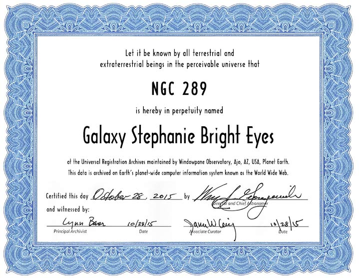 Name a galaxy certificate package name a galaxy standard certificate yadclub Choice Image