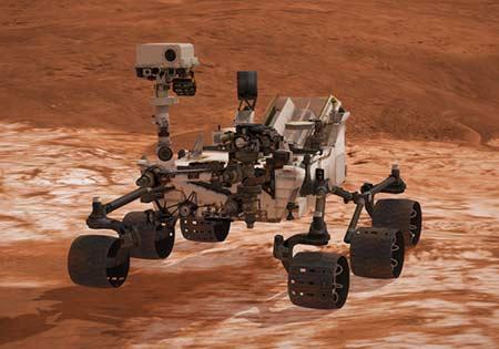 mars curiosity interactive