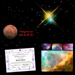 Binary Star Voyage to Mars Package