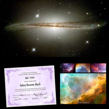 name a galaxy hubble package