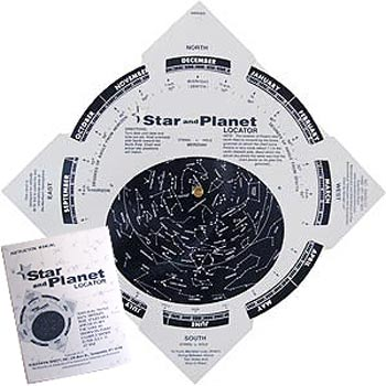 Star and Planet Locator Map